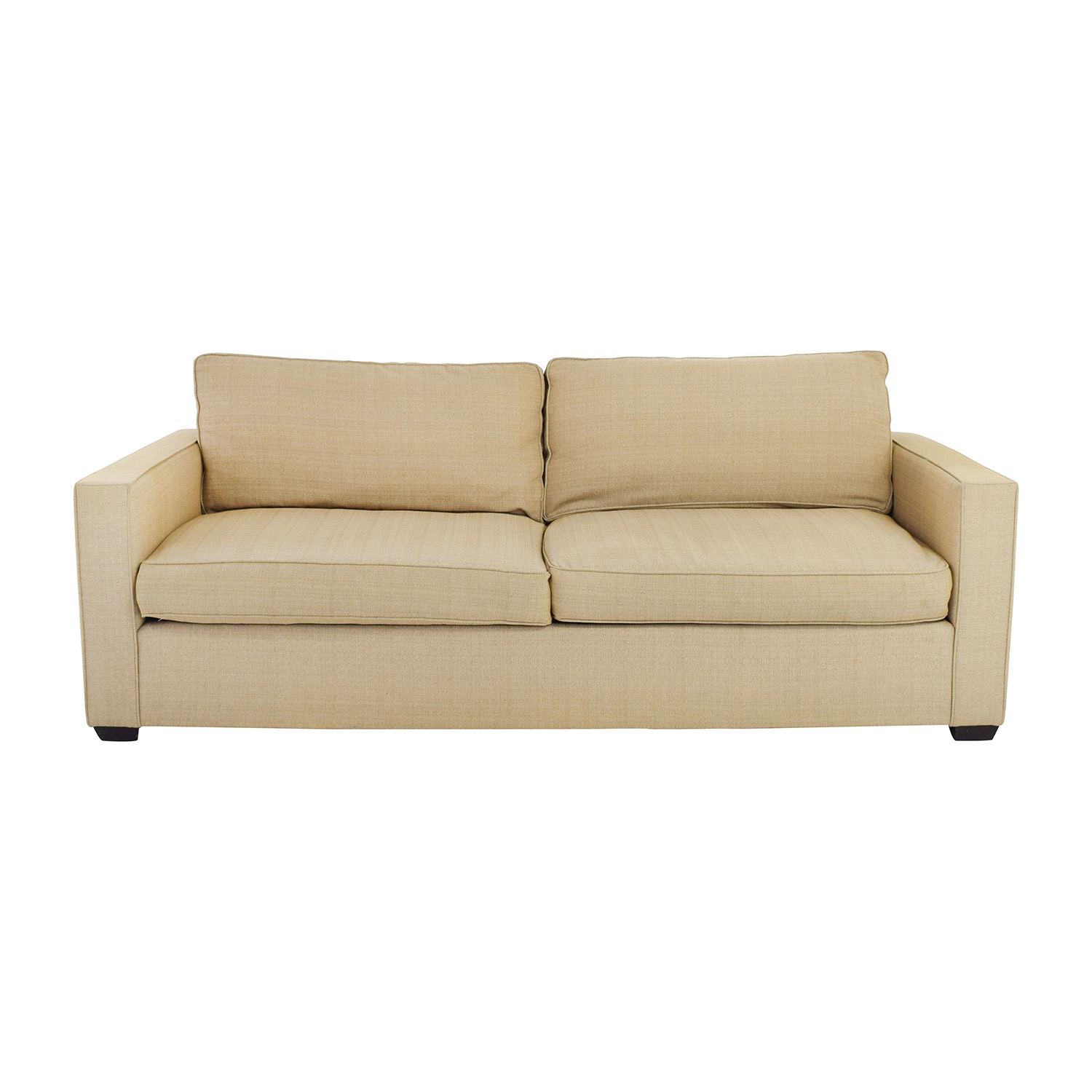 shop Room and Board Room & Board Beige Two Cushion Couch online