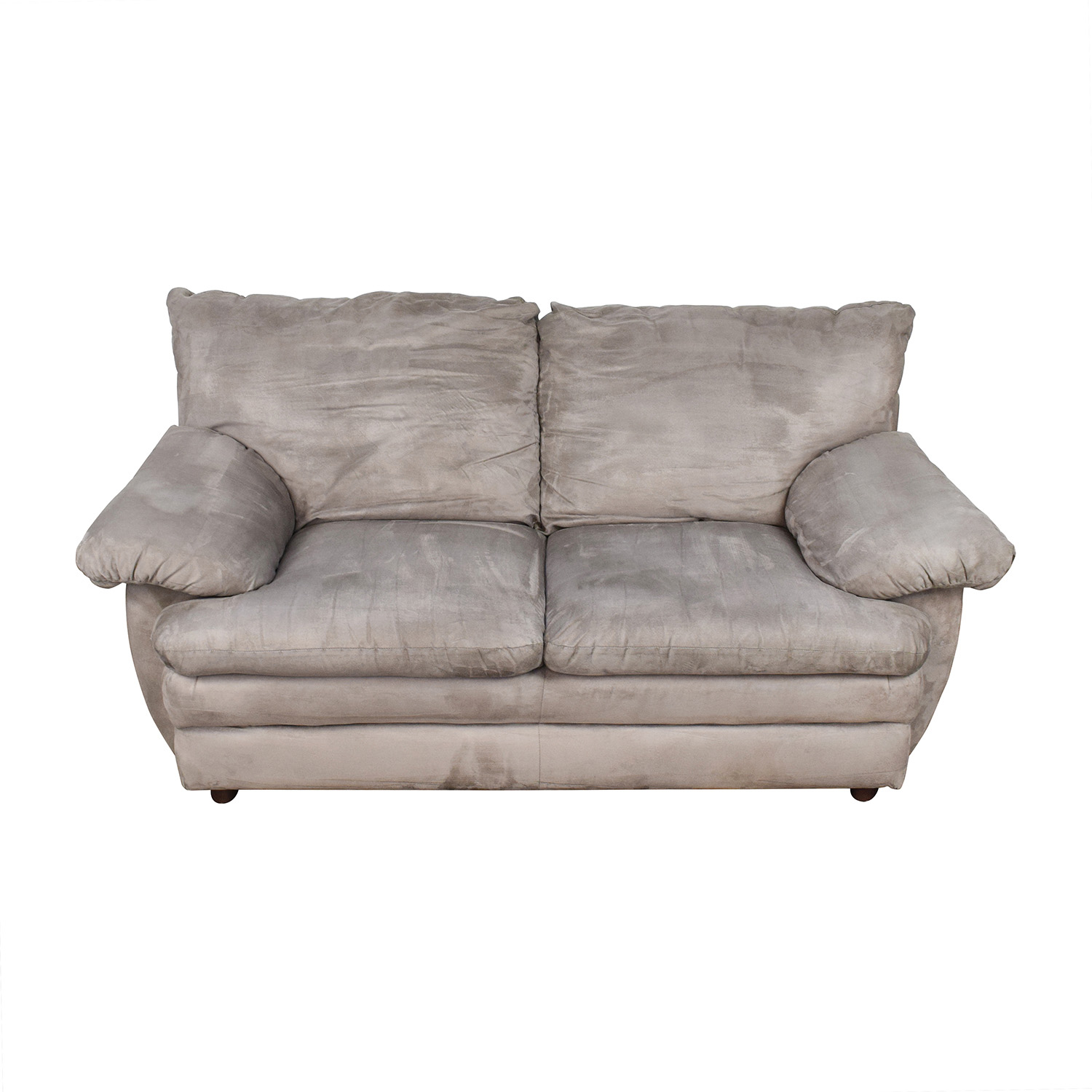 Microfiber Grey Couch / Classic Sofas