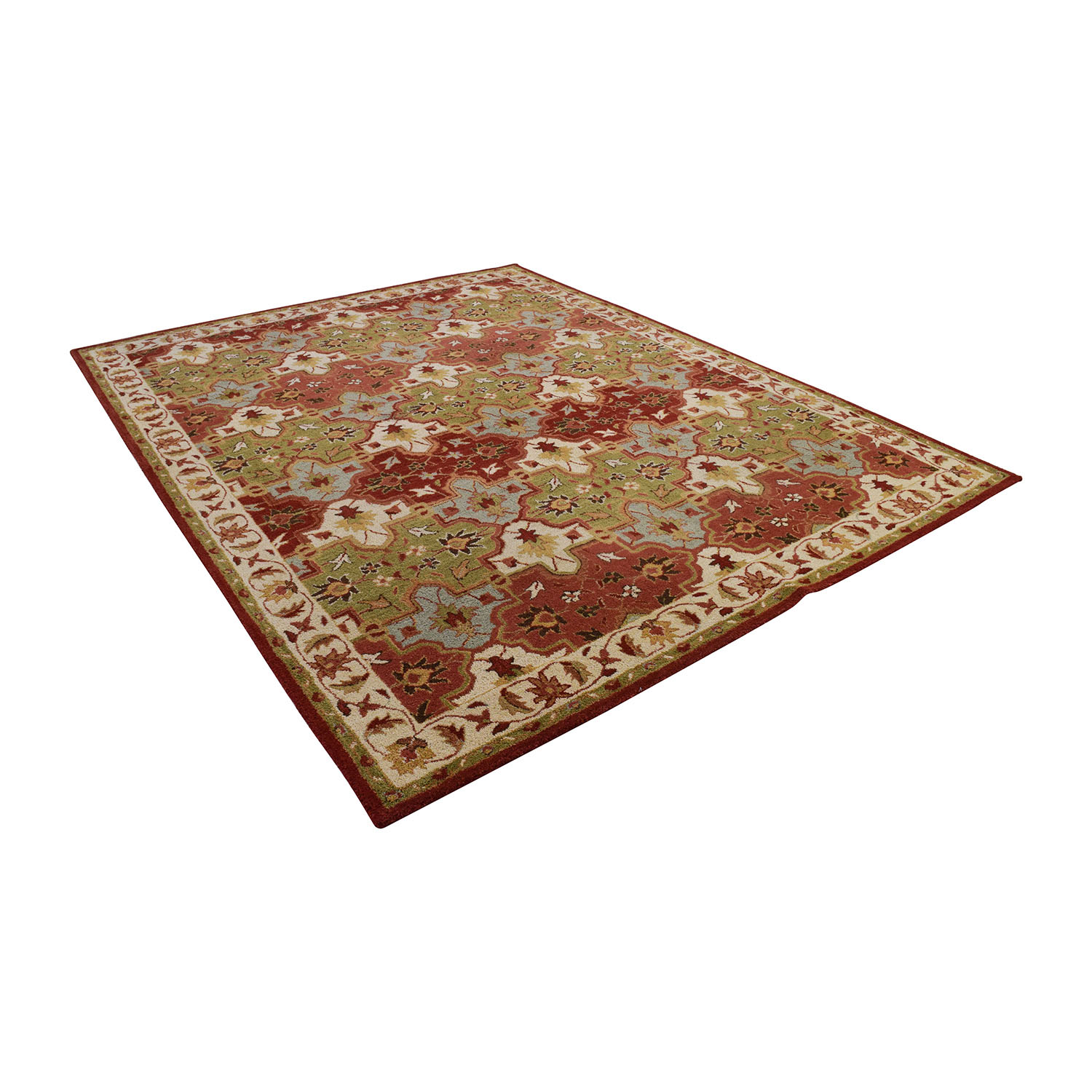 buy Pottery Barn Persian Patterned Rug Pottery Barn