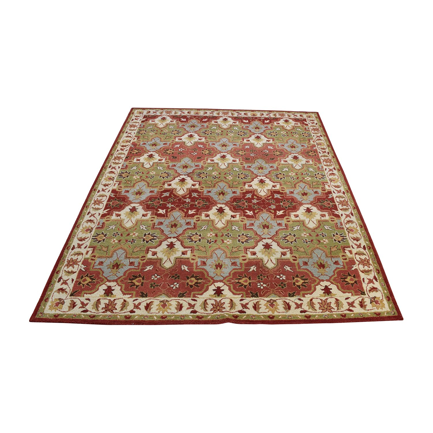 Pottery Barn Persian Patterned Rug Pottery Barn