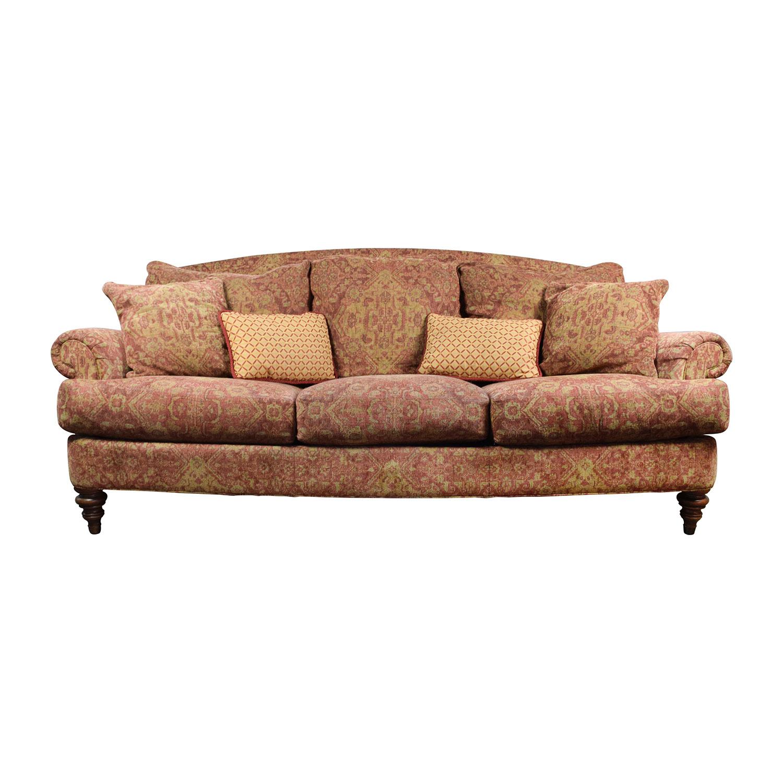 Ethan Allen Ethan Allen Paisley Sofa with Toss Pillows nyc
