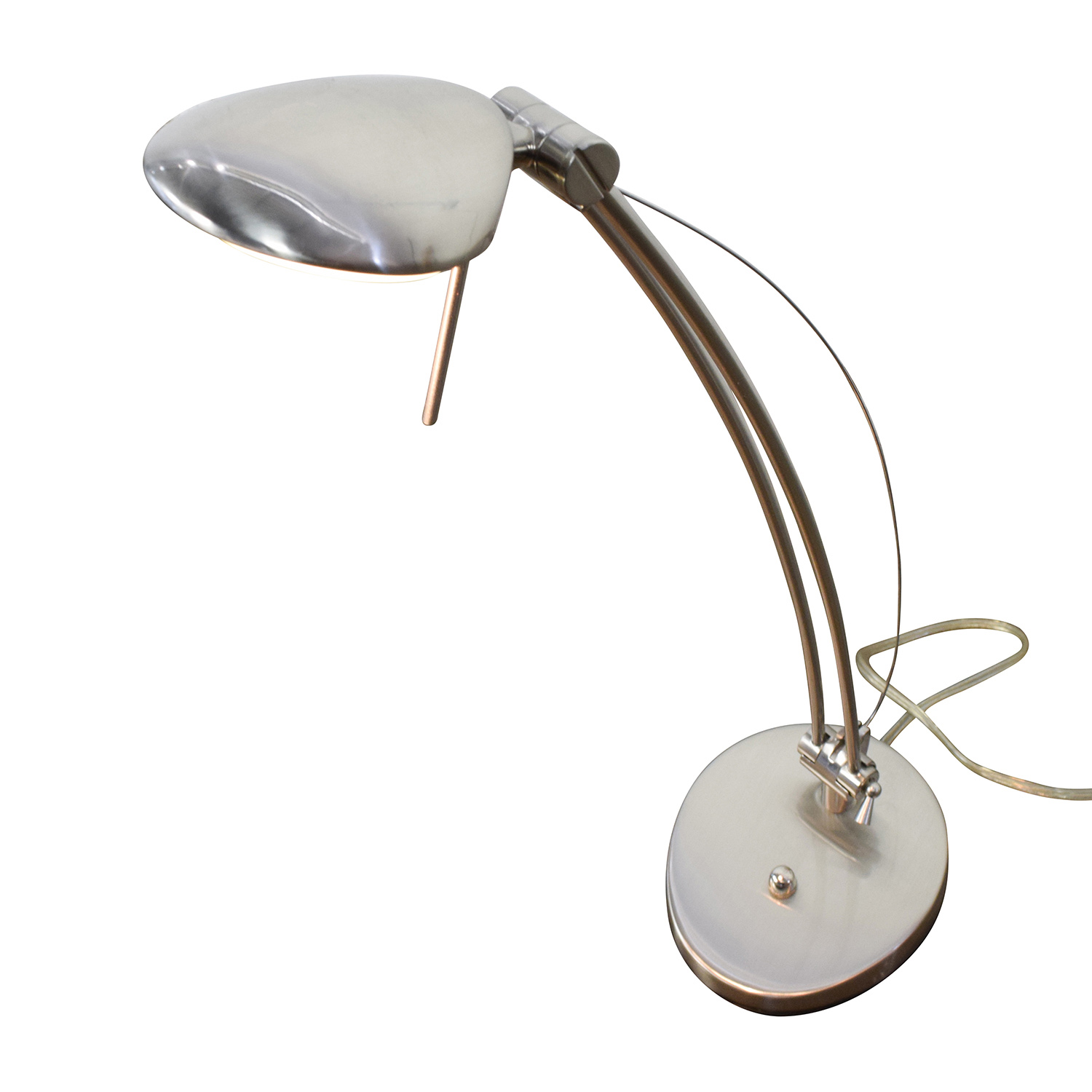 Chrome Desk Lamp / Decor