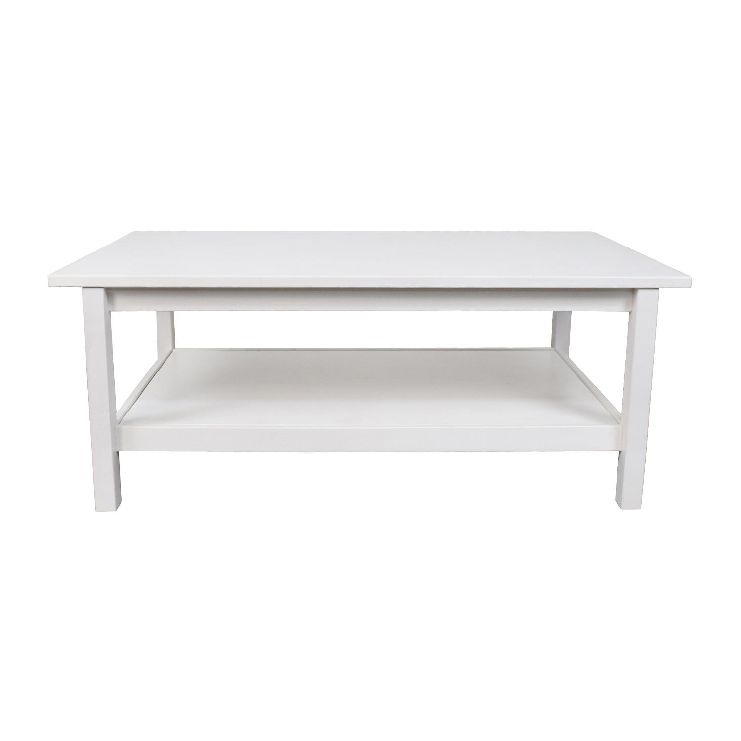 Hemnes Coffee Table Light Brown 118x75 Cm