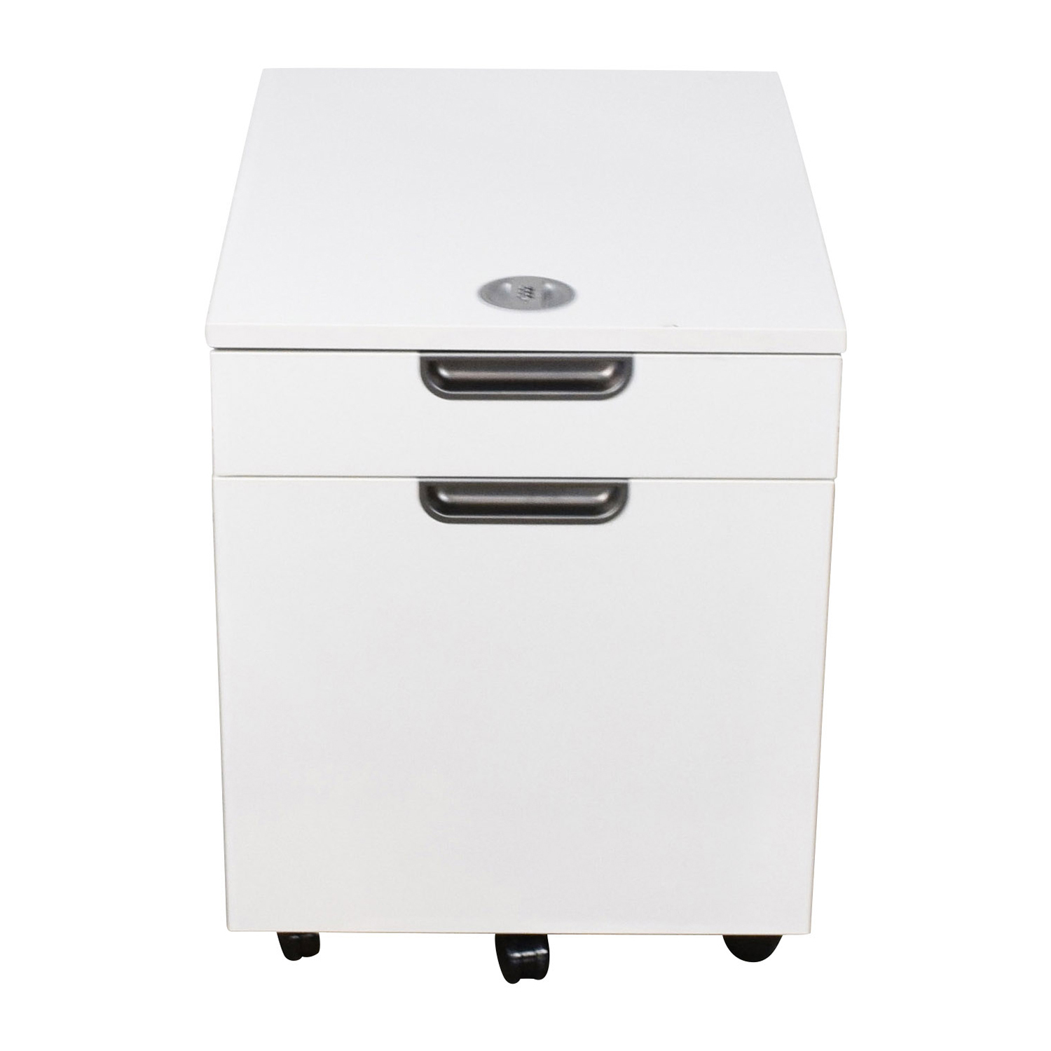 Ikea Galant White Combination Lock File Cabinet