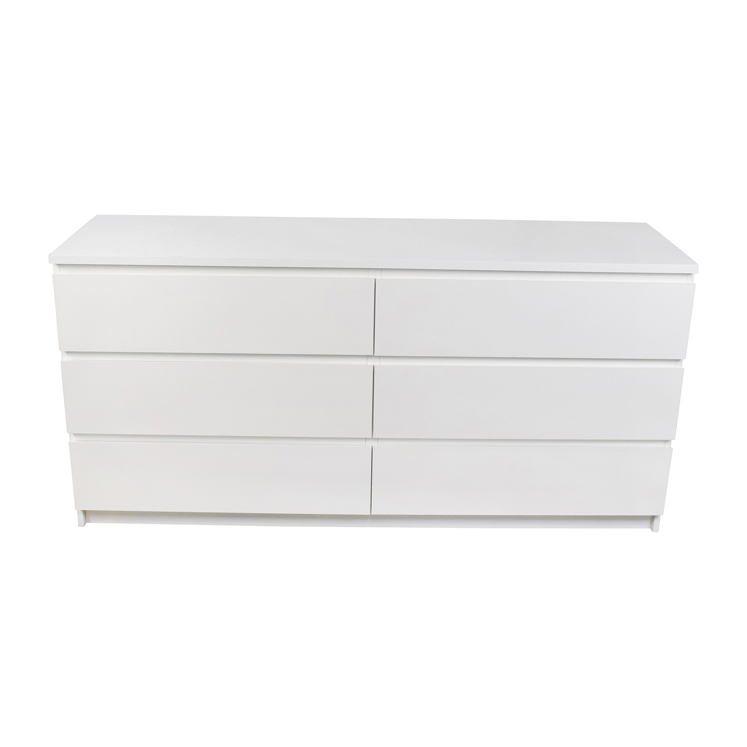 IKEA IKEA Malm 6-Drawer White Dresser discount