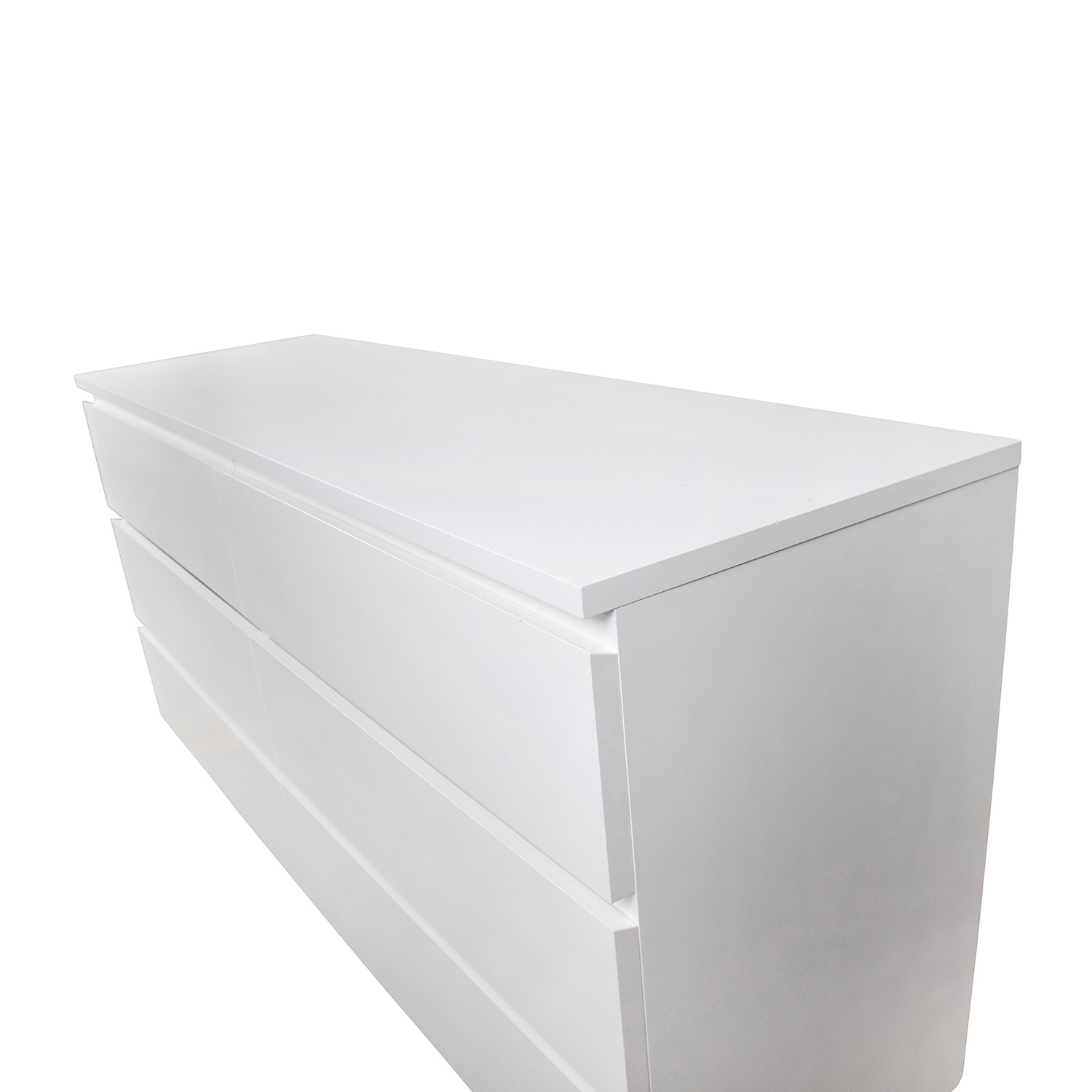 26 Off Ikea Ikea Malm 6 Drawer White Dresser Storage