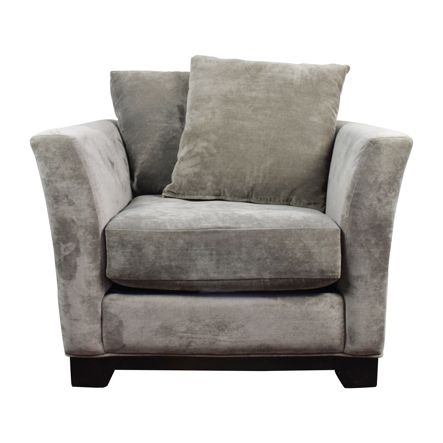 Macys Roselake Accent Chair With Otto: Macy's Macy's Kenton Grey Accent Chair / Chairs