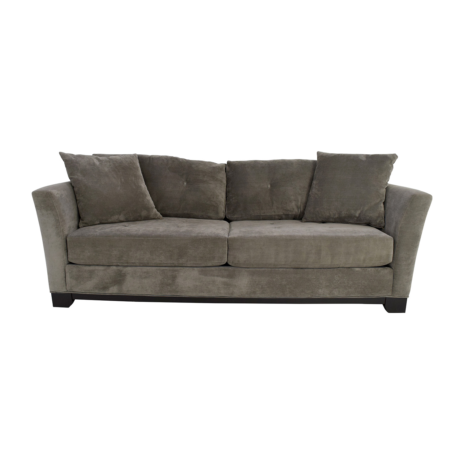 Macys Macys Grey Tufted Couch coupon