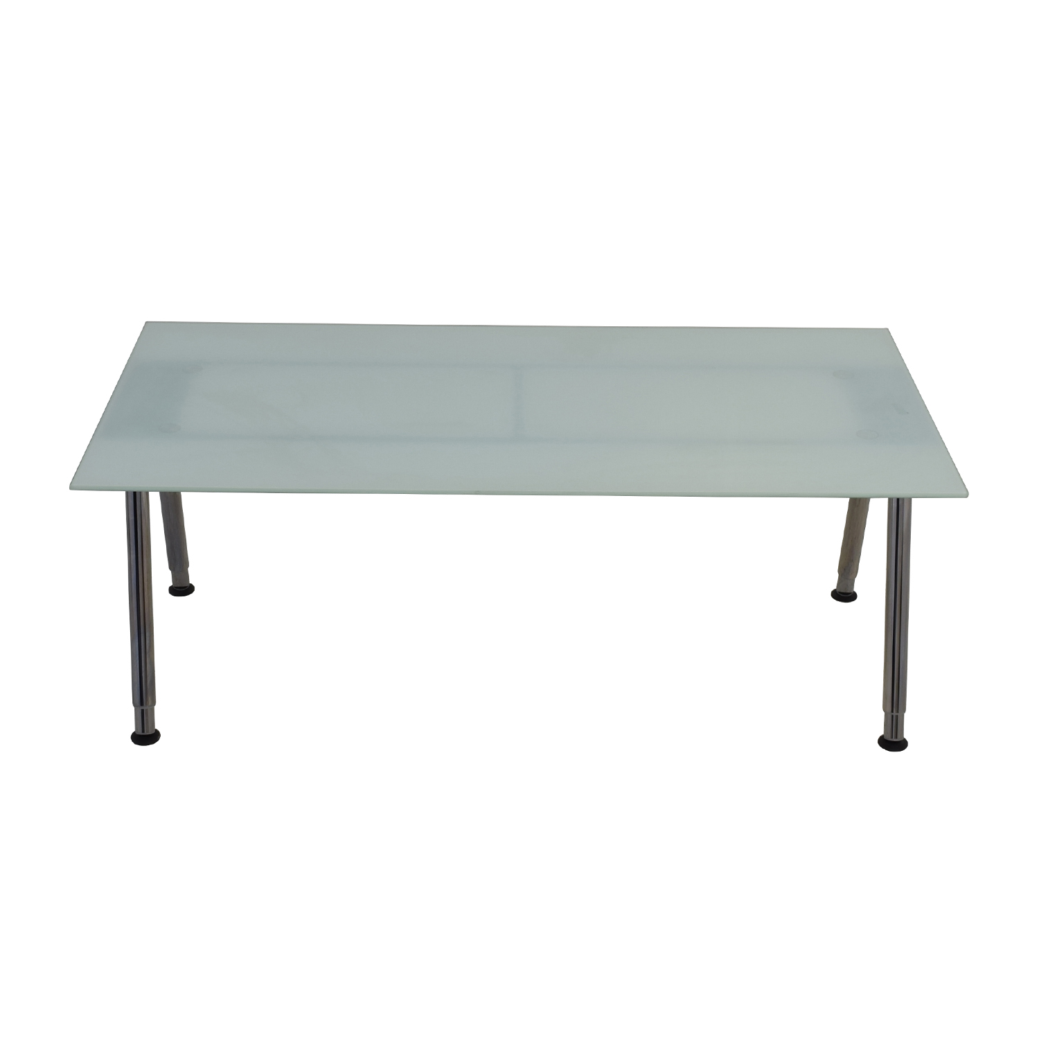69% OFF - IKEA IKEA Galant glass Top Desk / Tables