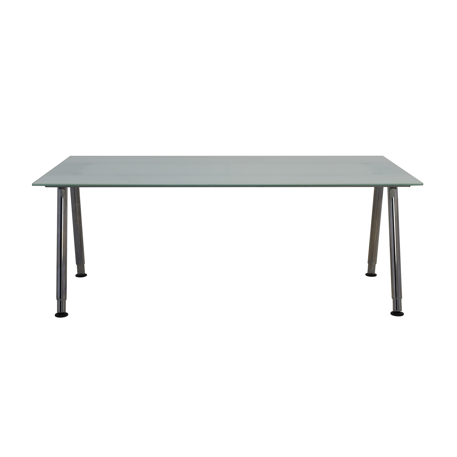 69 off ikea ikea galant glass top desk tables - Glass office desk ikea ...