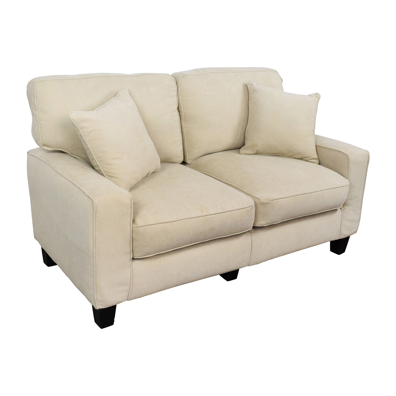 39% OFF Tar Tar Tan Loveseat Sofa Sofas
