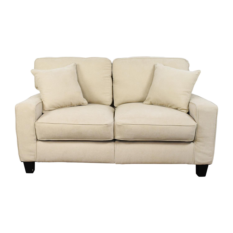 Target Target Tan Loveseat Sofa / Sofas
