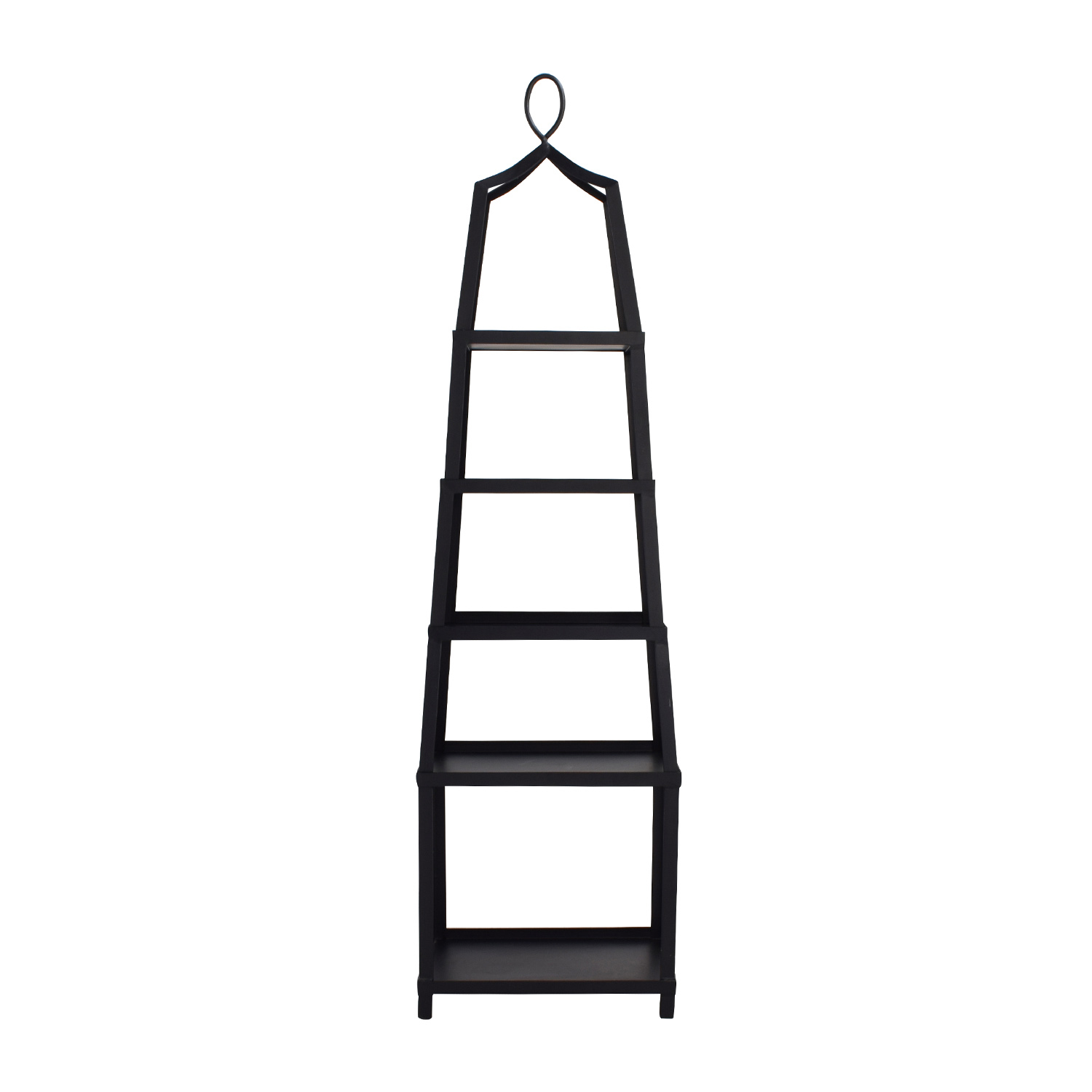 buy Ballard Design Grand Tour Black Metal Etagere Ballard Designs