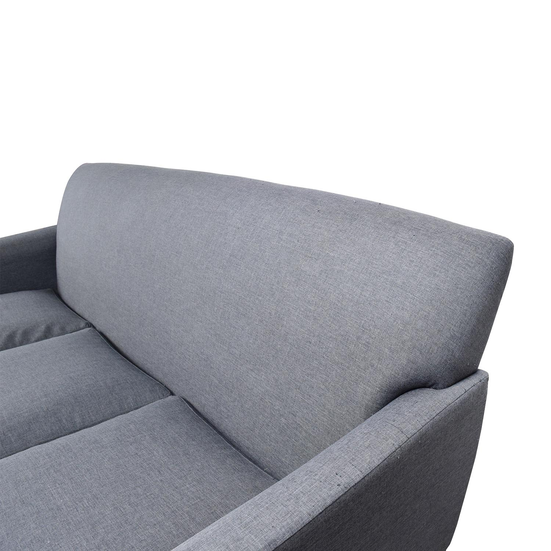 buy Tribecca Home Tribecca Home Uptown Modern Sofa online