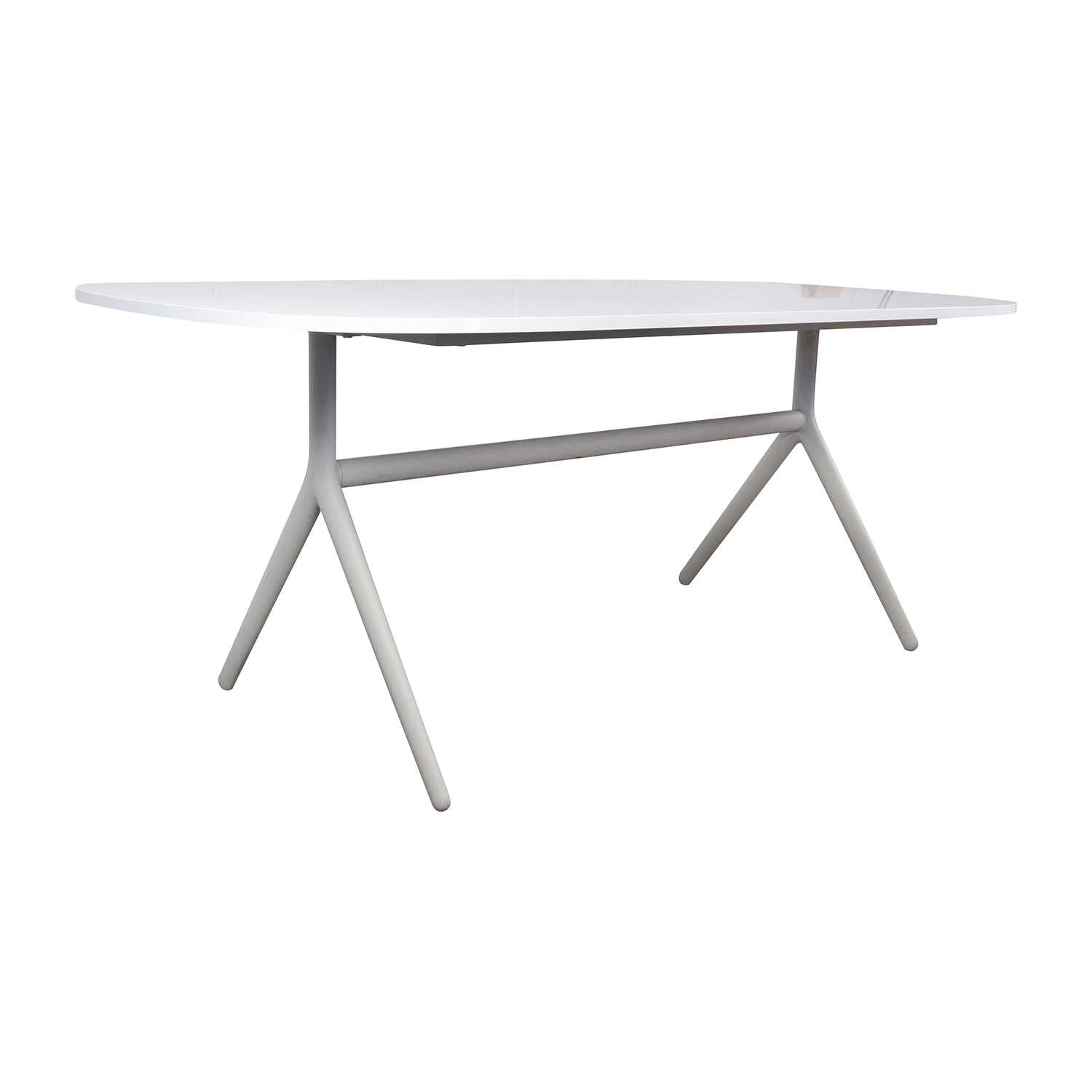 home buy furniture tables dinner tables oblong white table