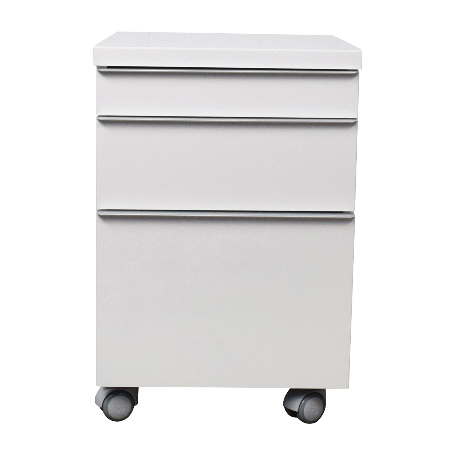 shop White 3-drawer Filing Cabinet online