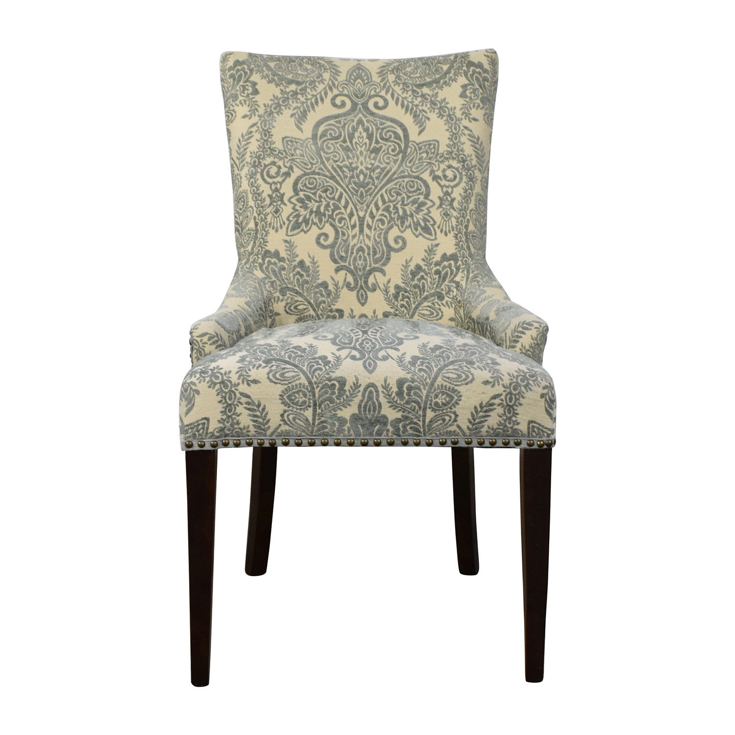 Pier 1 Imports Pier 1 Imports Adelle Collection Smoke Blue Dining Chair  Accent Chairs ...
