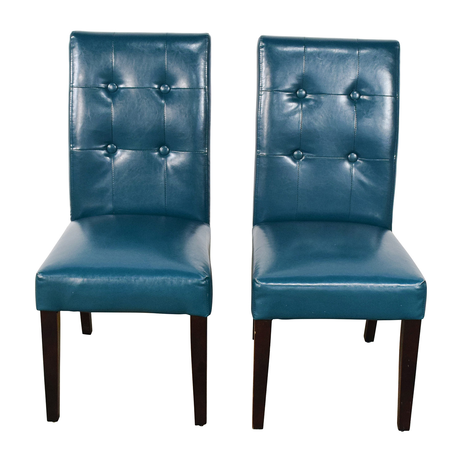 Pier 1 Imports Pier 1 Imports Mason Collection Teal Dining Chairs dimensions