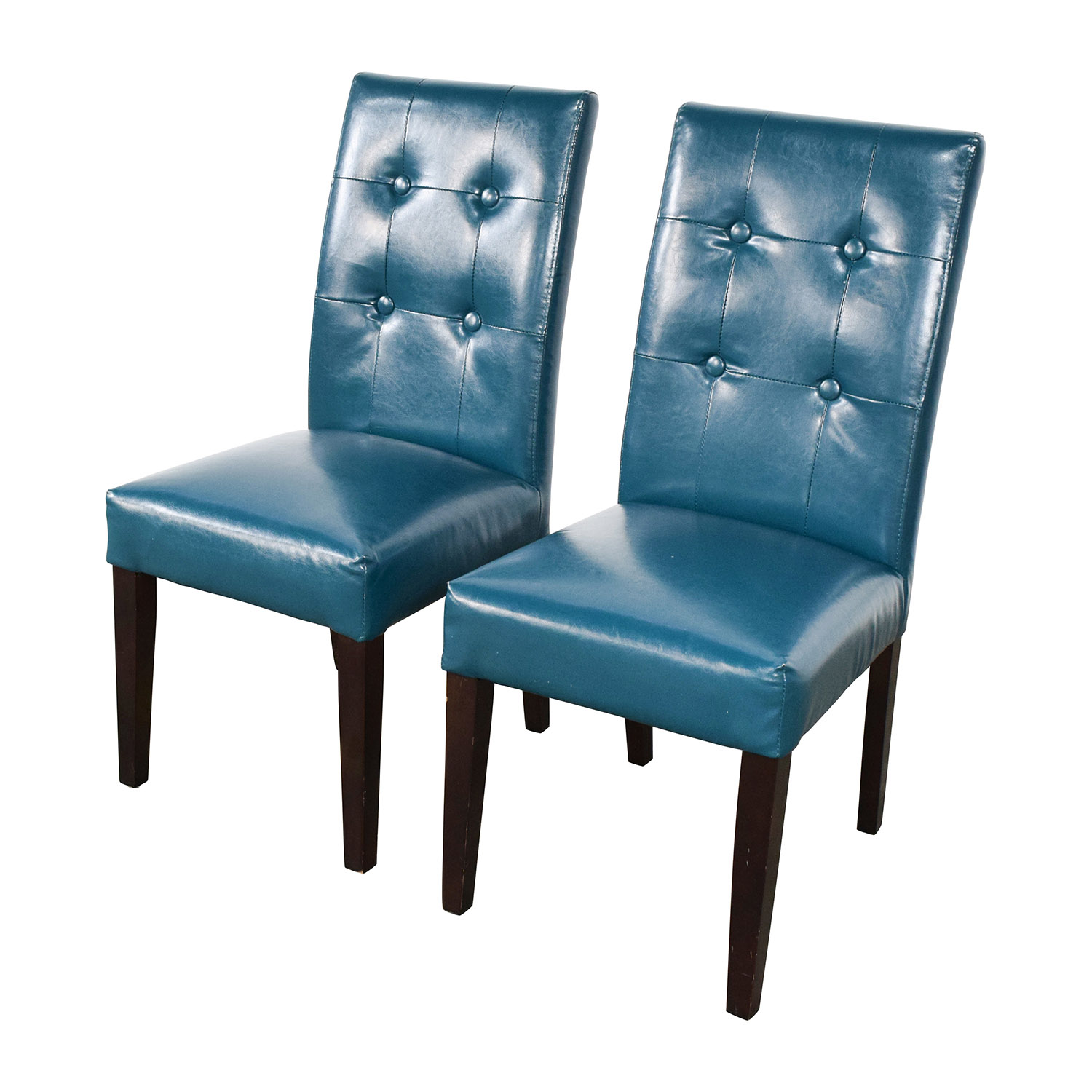 Pier 1 Imports Mason Collection Teal Dining Chairs