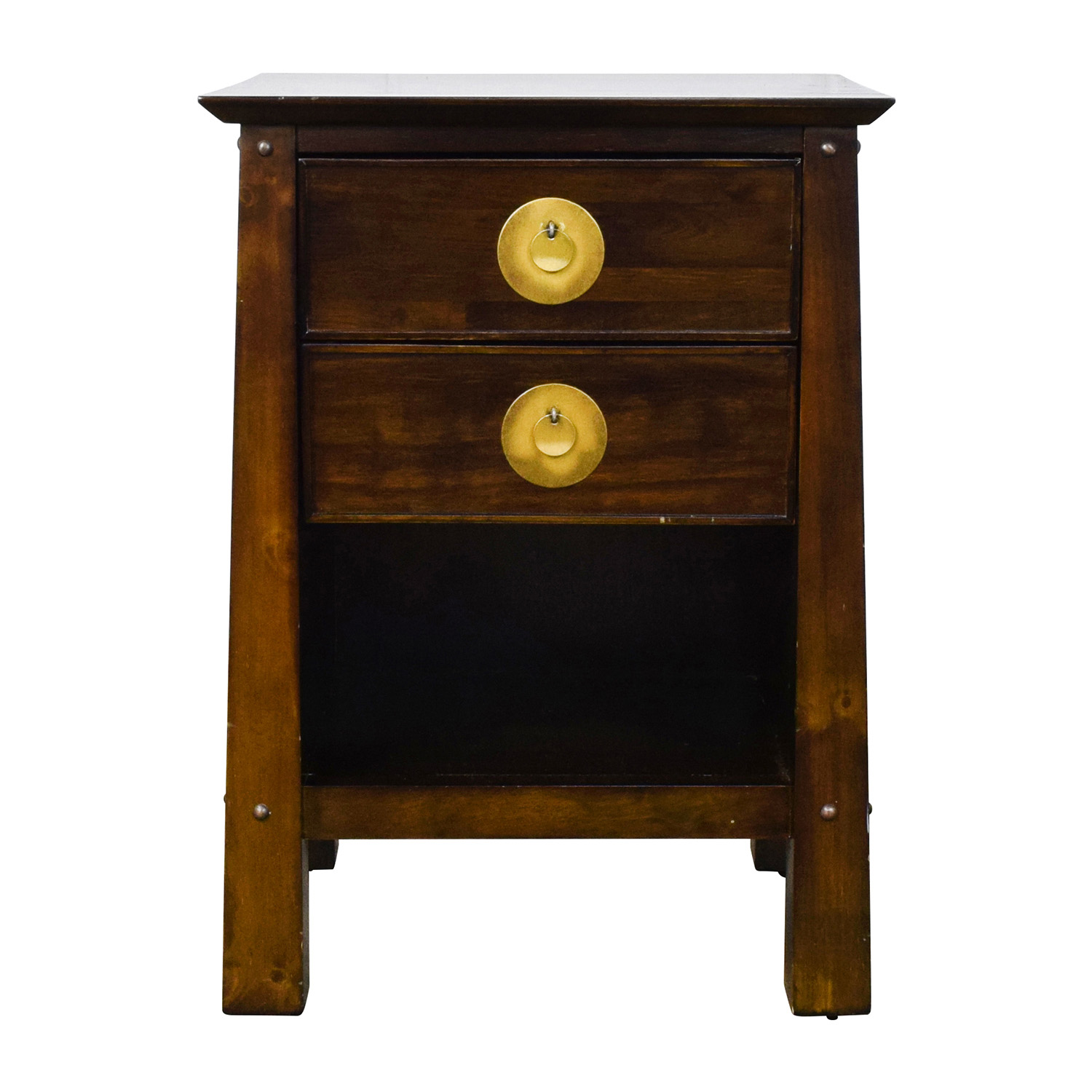 79 off pier 1 imports pier 1 imports shanghai collection espresso nightstand tables for Pier one imports bedroom furniture