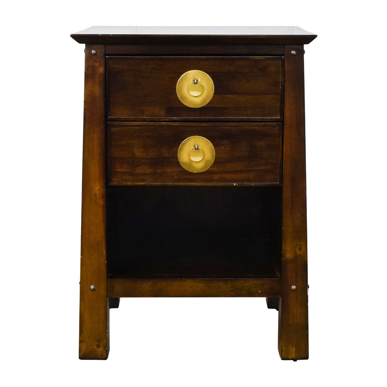 Pier 1 Imports Pier 1 Imports Shanghai Collection Espresso Nightstand used