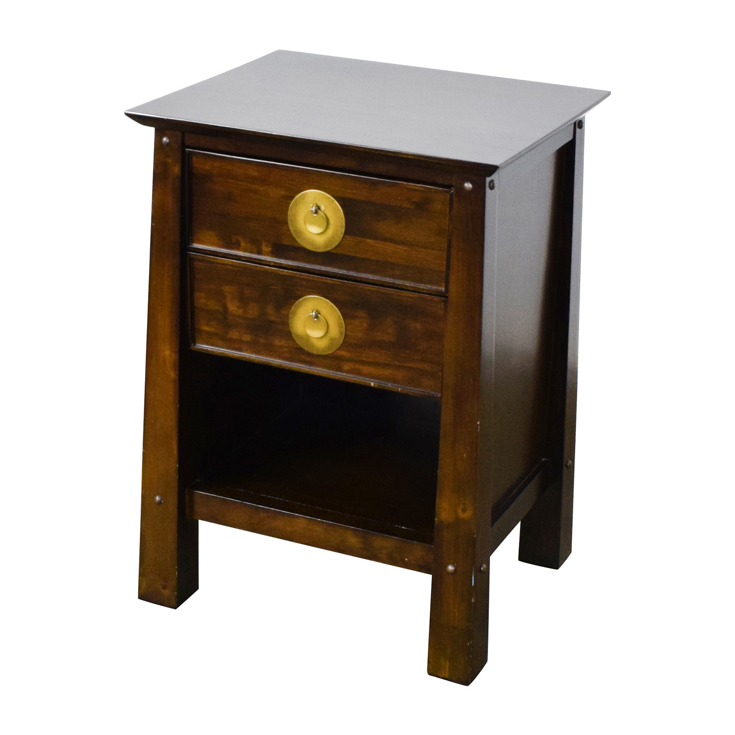 79 Off Pier 1 Imports Pier 1 Imports Shanghai Collection Espresso Nightstand Tables