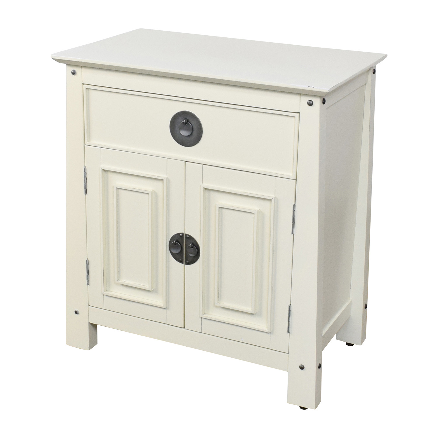 89 off pier 1 imports pier 1 imports shanghai collection bedside chest tables for Pier one shanghai bedroom furniture