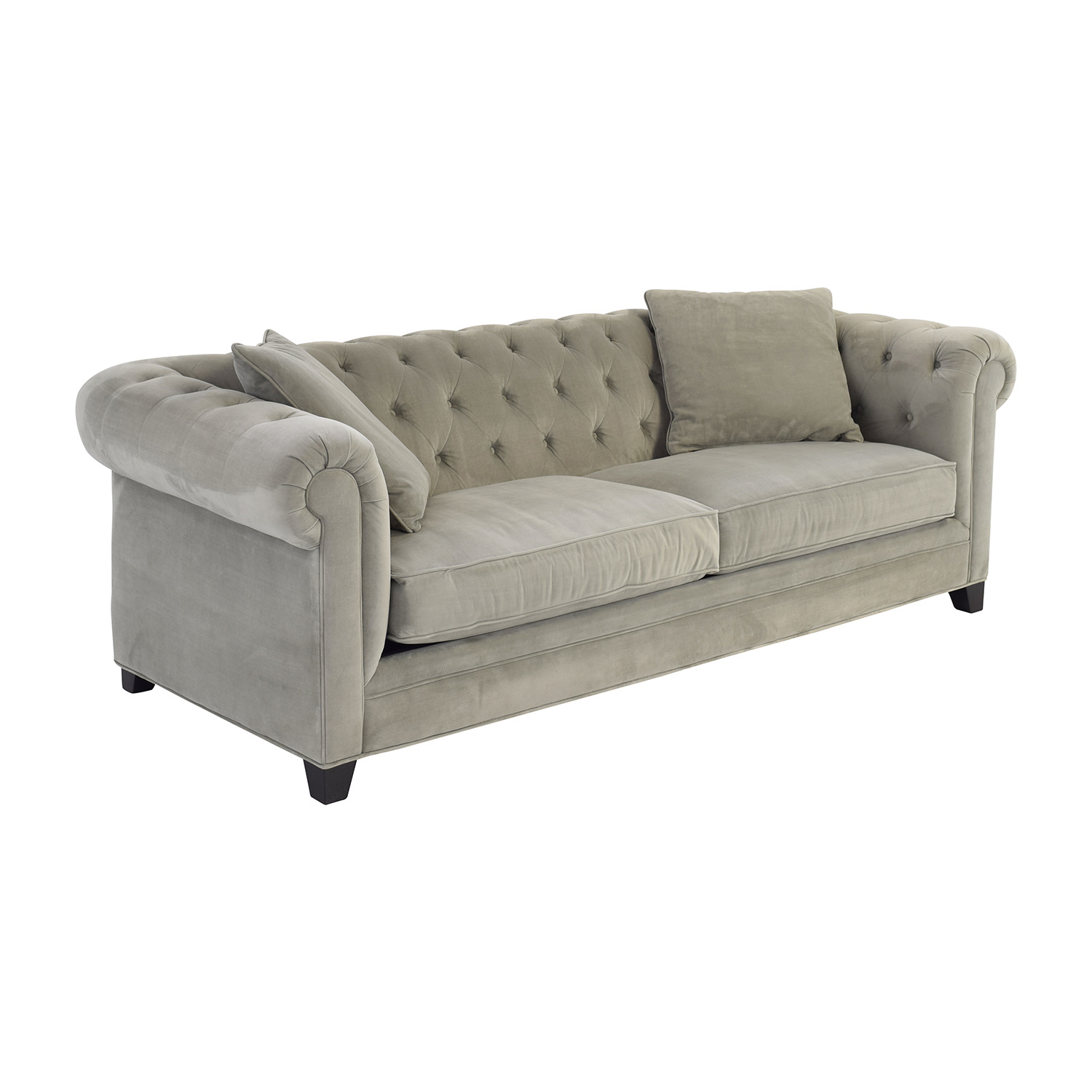 Macy's Martha Stewart Saybridge Grey Sofa / Sofas