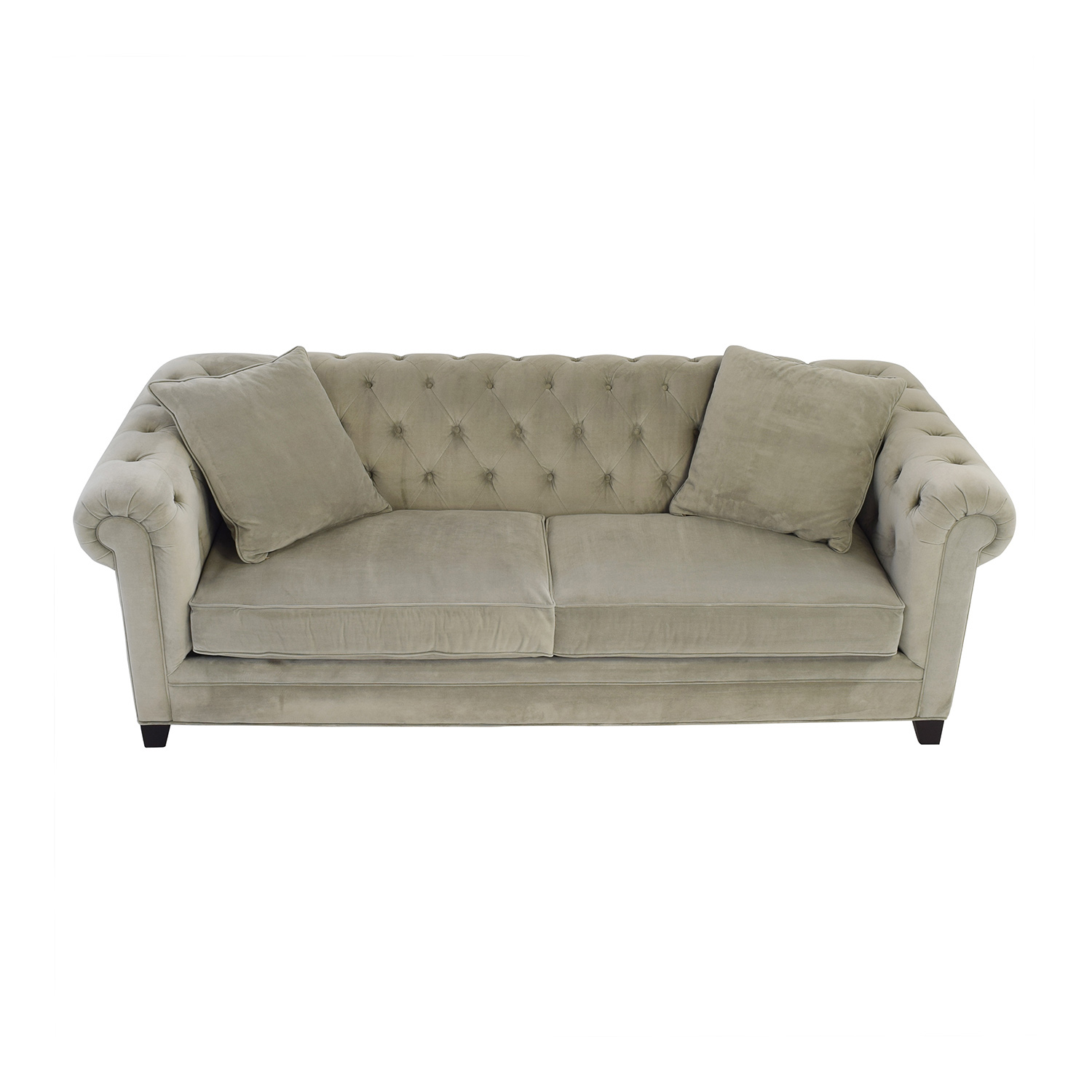 shop Macys Martha Stewart Collection Martha Stewart Saybridge Grey Sofa online