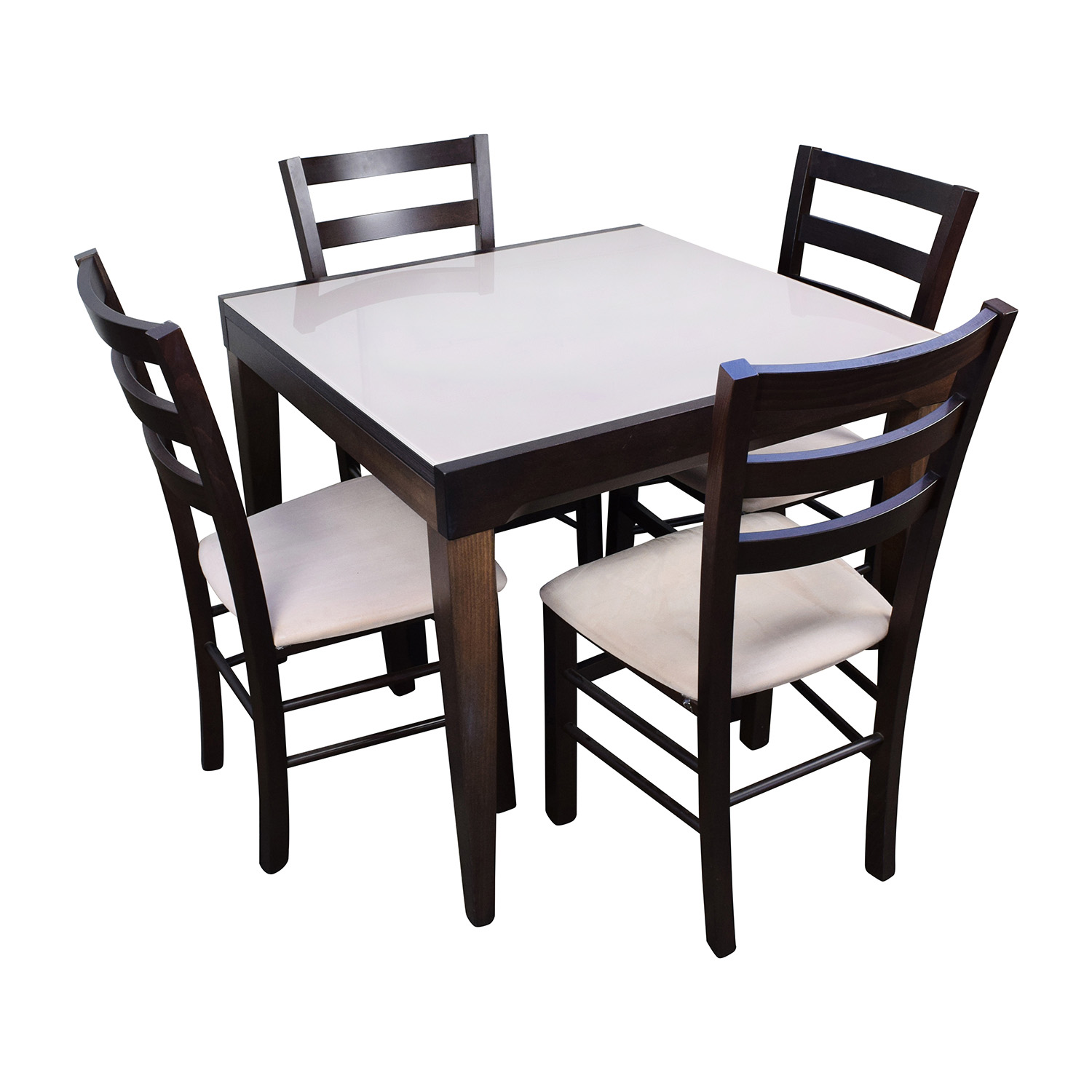 Genial 82% OFF   Macyu0027s Macyu0027s Cafe Latte Five Piece Extendable Dining Set / Tables