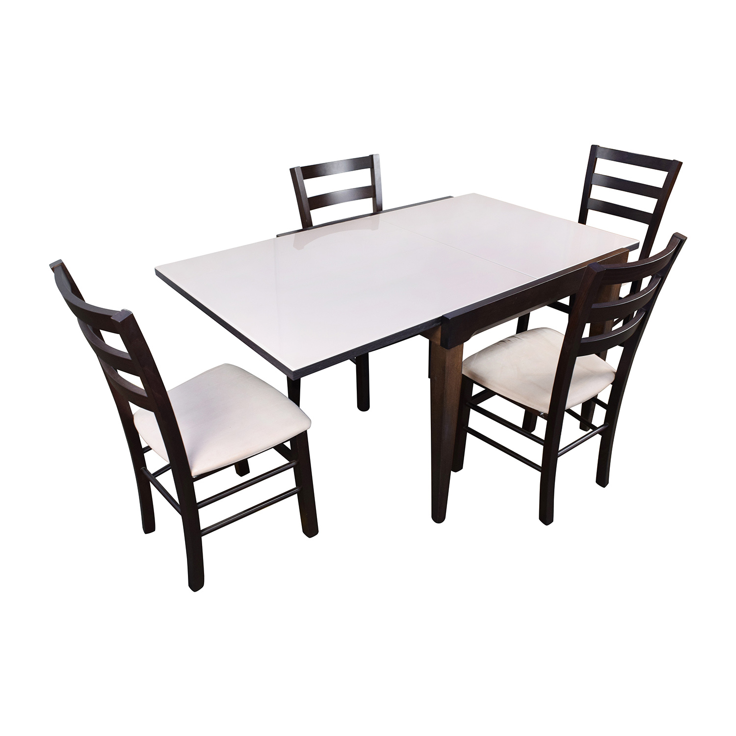 82 OFF Macys Macys Cafe Latte Five Piece Extendable  : second hand macys cafe latte five piece extendable dining set from furnishare.com size 1500 x 1500 jpeg 254kB
