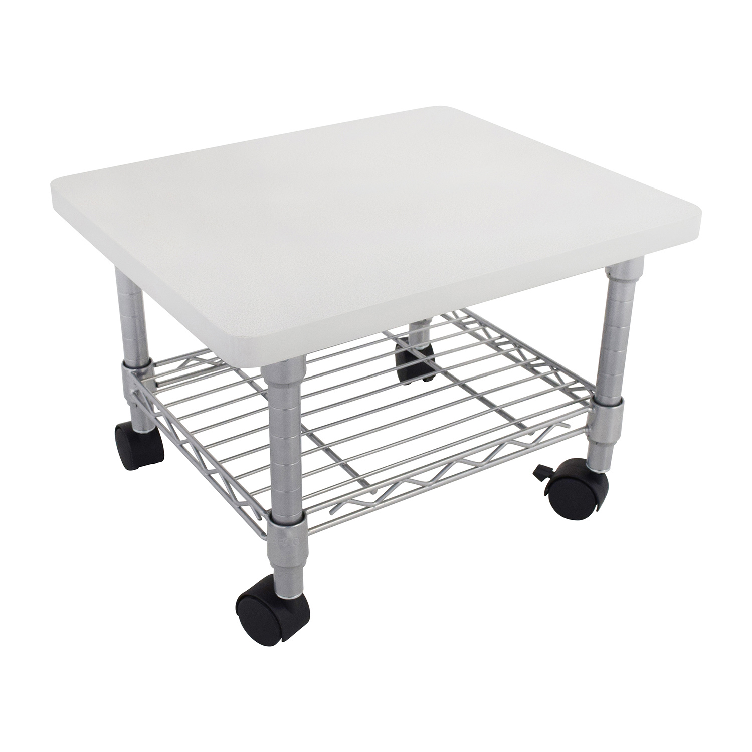 Why Adding A Rug Under Dining Table Sets Is A Must: Safco Safco Under Desk Printer Stand / Tables