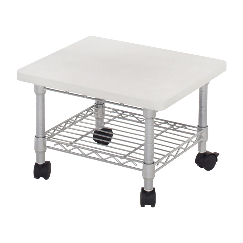 Safco Under Desk Printer Stand For