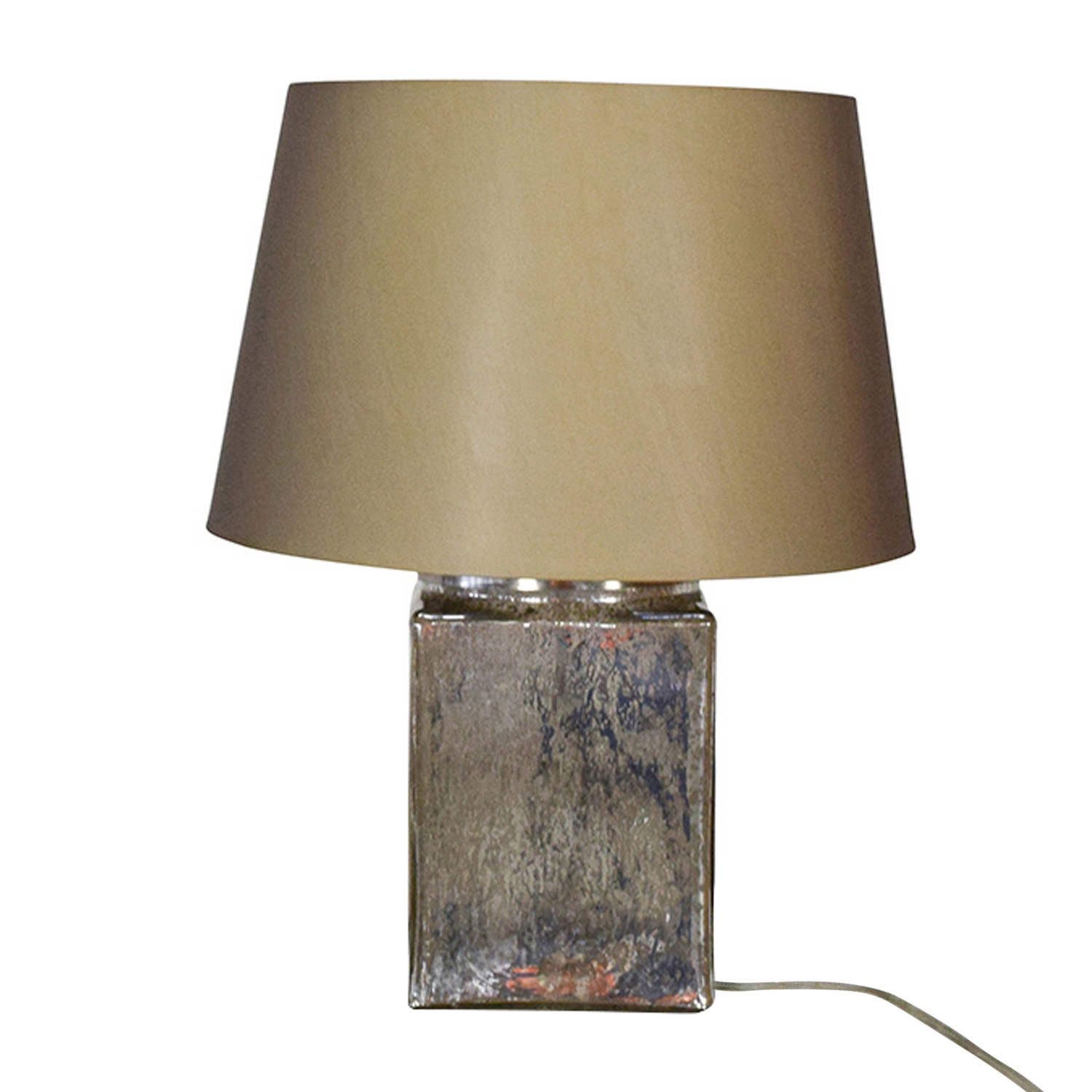 Crate And Barrel Crate U0026 Barrel Colored Mercury Glass Lamp On ...