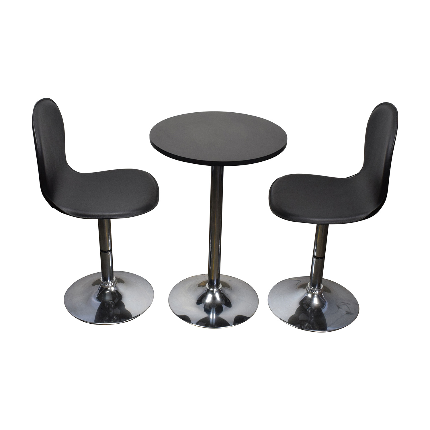 buy Target Cafe Table and Leather Chairs Target