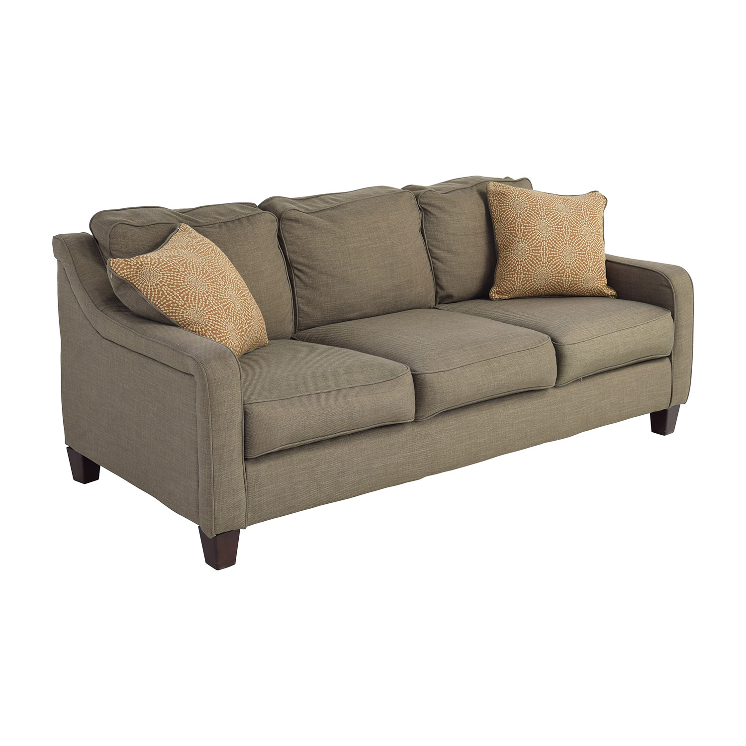 Loveseat Sofa Bed Ashley Furniture: Ashley Furniture Ashley Furniture Brown Couch