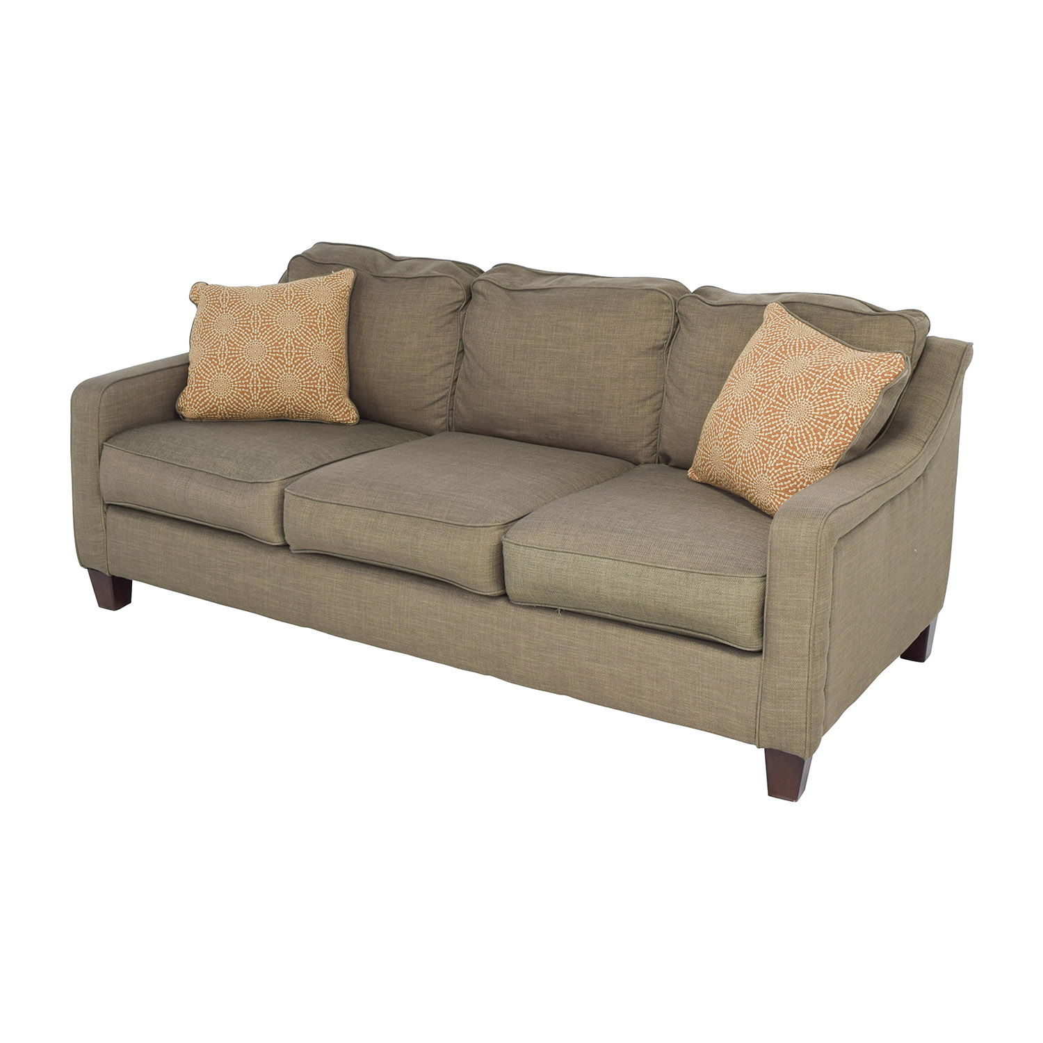 69% OFF Ashley Furniture Ashley Furniture Brown Couch Sofas