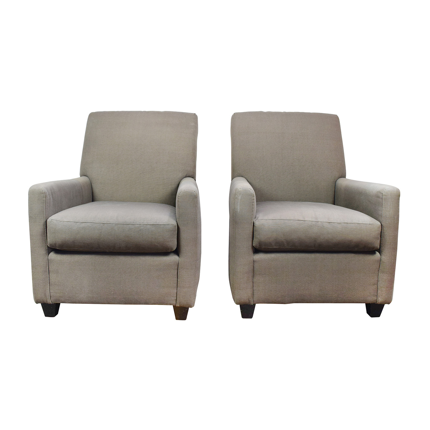 Crate And Barrel Crate And Barrel Grey Accent Chairs Coupon ...