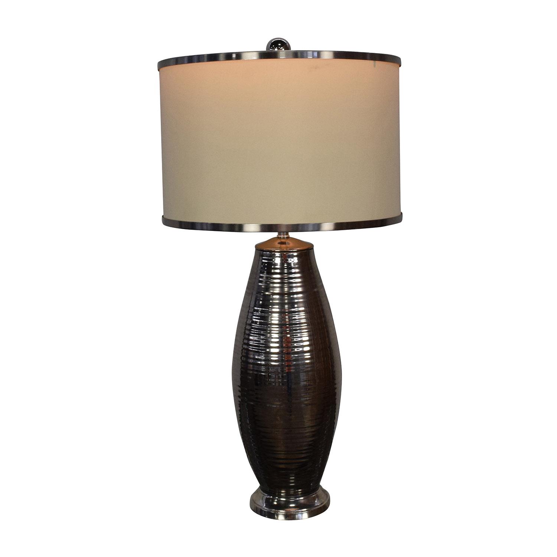 Currey and Company Ceramic-Metallic Lamp / Decor
