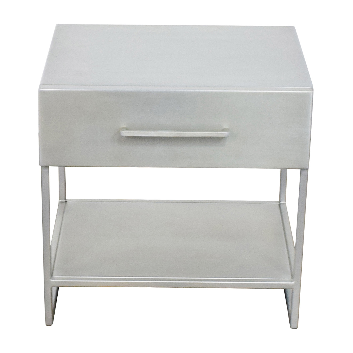 buy CB2 Proof Metal Night Table CB2 End Tables