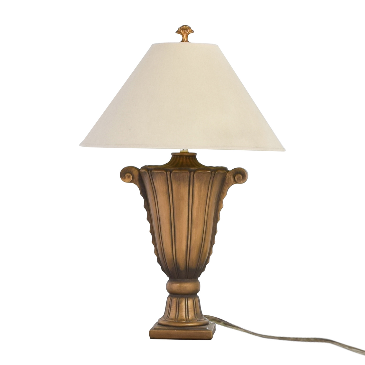 Rooms To Go Rooms To Go Gold Scroll Lamp Lamps