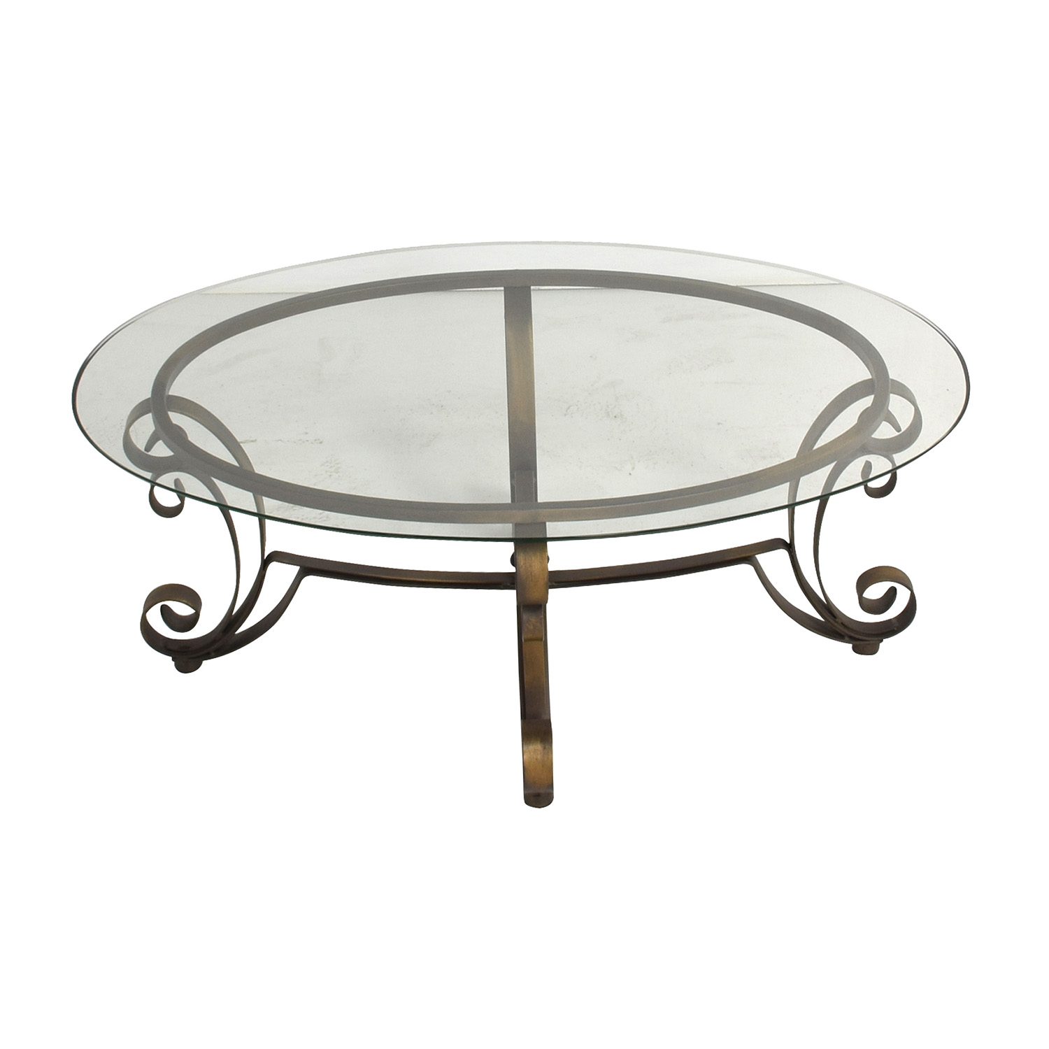 Rooms to Go Metal Oval Coffee Table Rooms to go