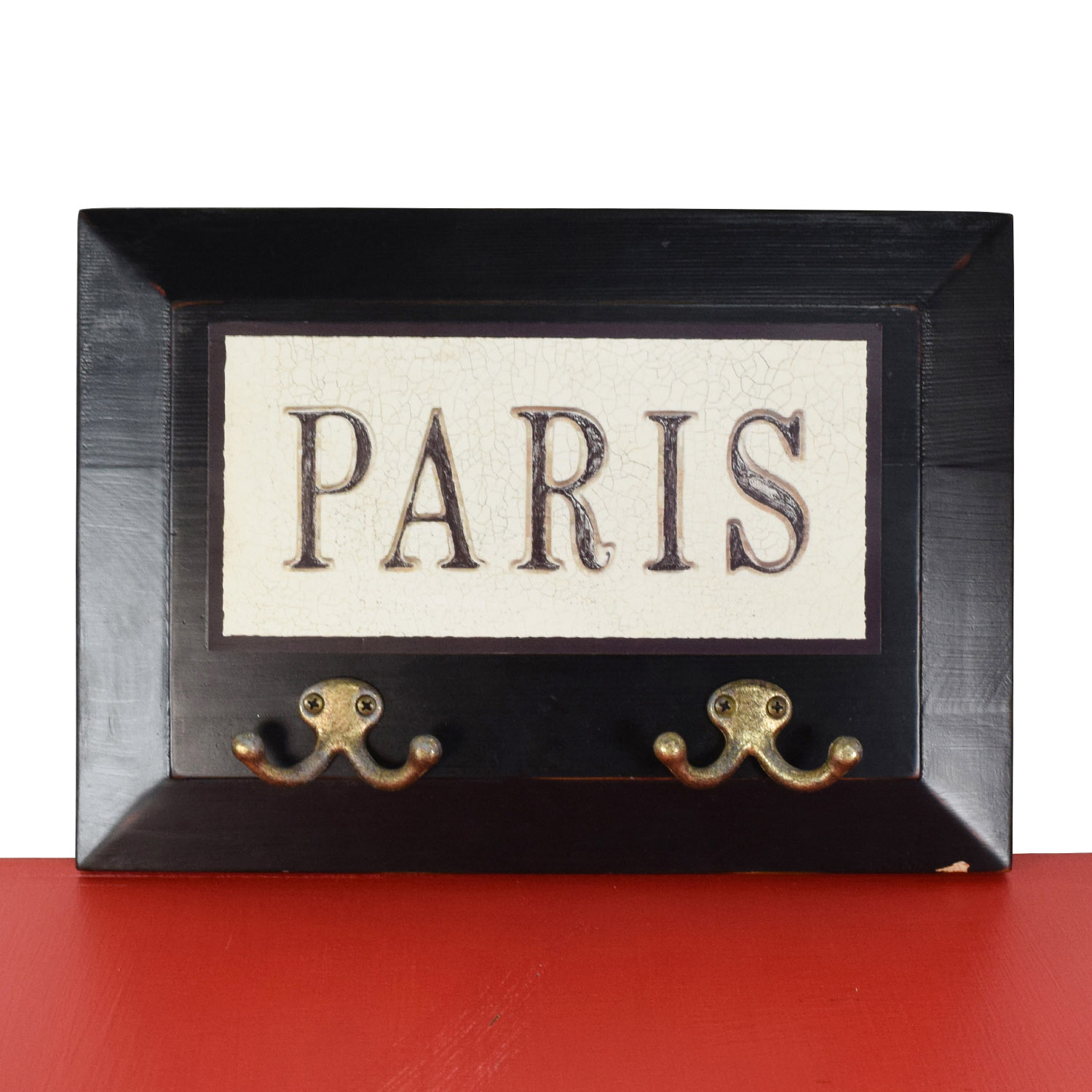 Paris Wall Hanging Coat Rack coupon