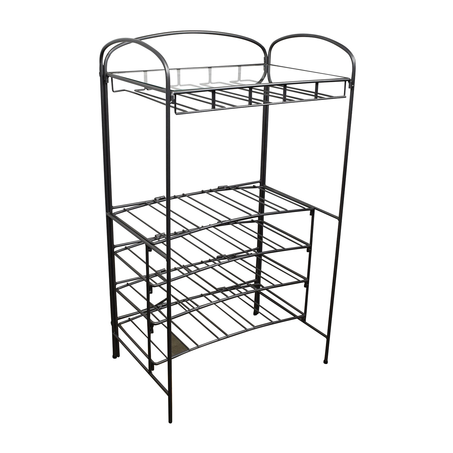 71 Off Metal Cocktail Bar Rack Tables