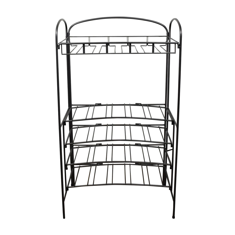 Metal Cocktail Bar Rack dimensions