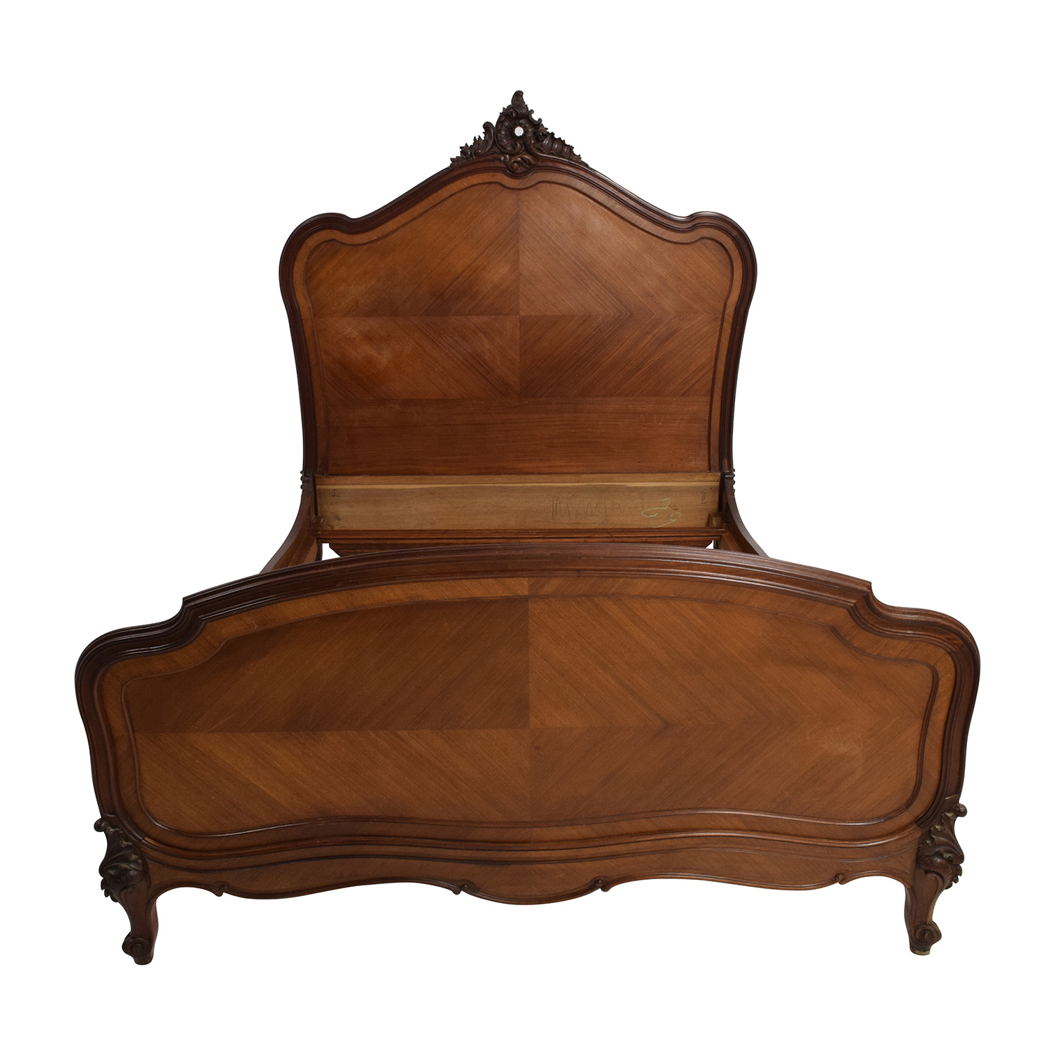 ABC Carpet & Home Mahogany Victorian Style Bed Frame / Bed Frames