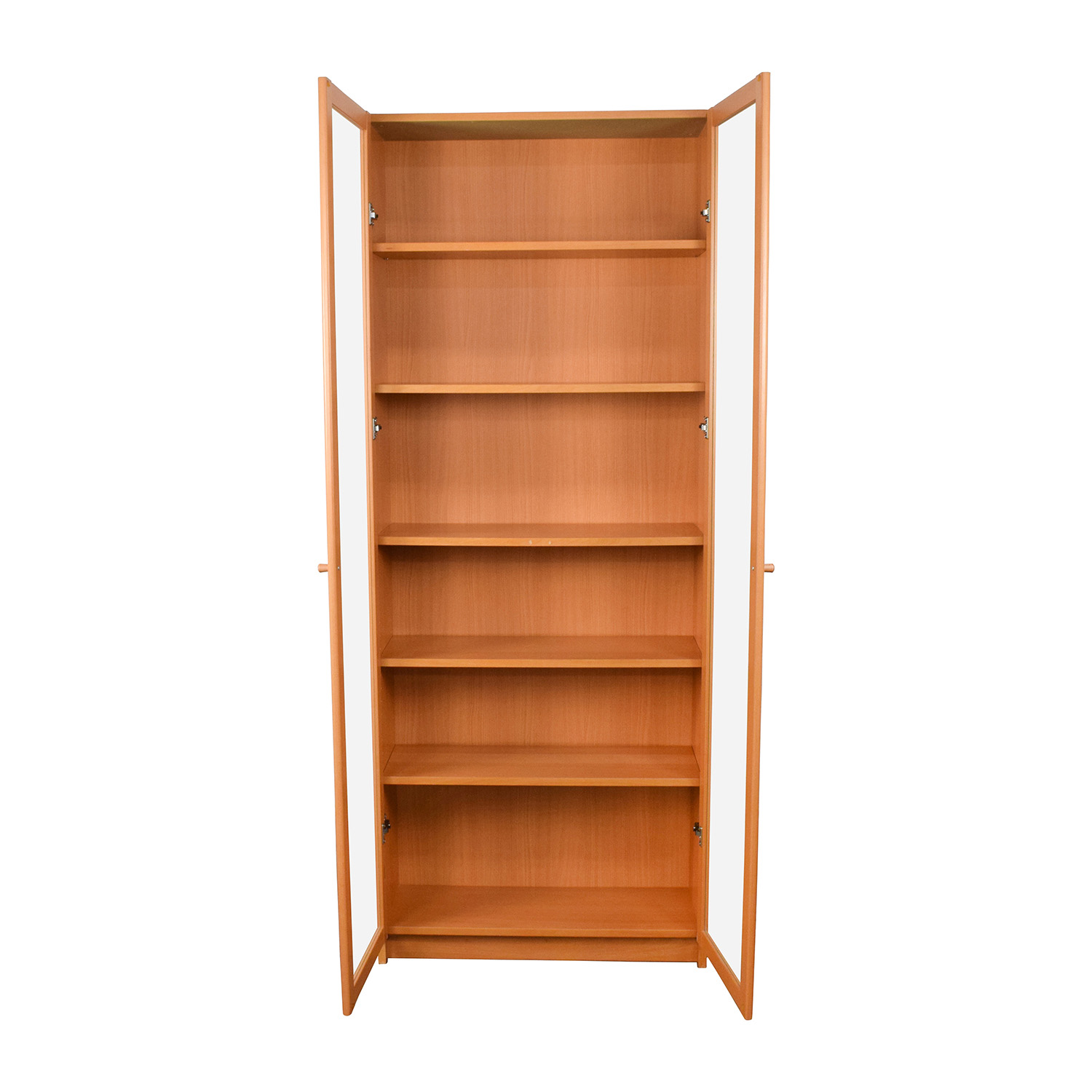IKEA IKEA Glass Shelving Unit on sale