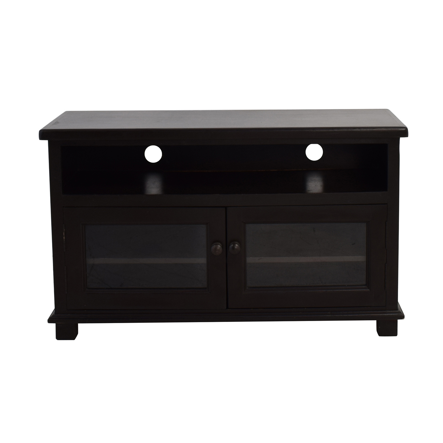 buy Dark Brown TV Stand with Storage