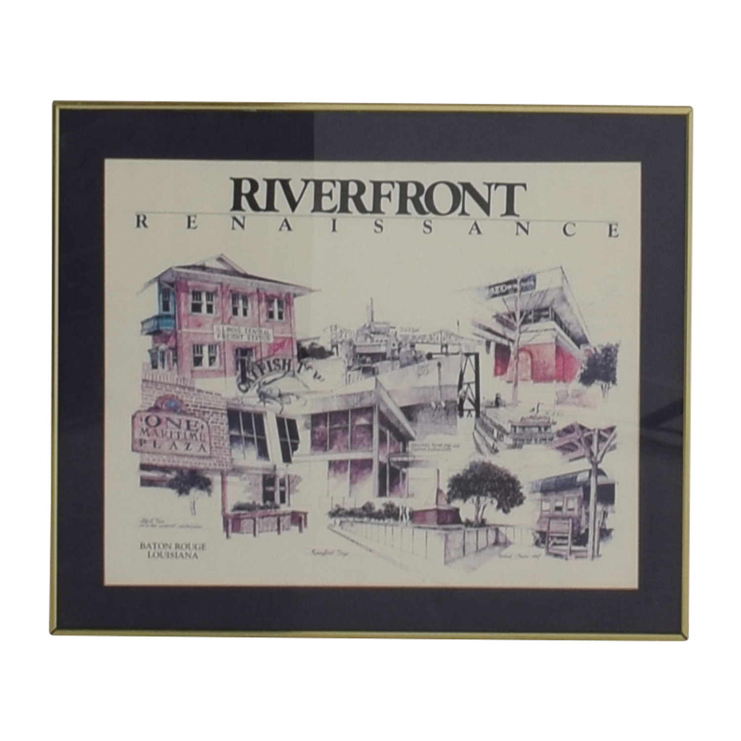 Riverfront Framed Print coupon
