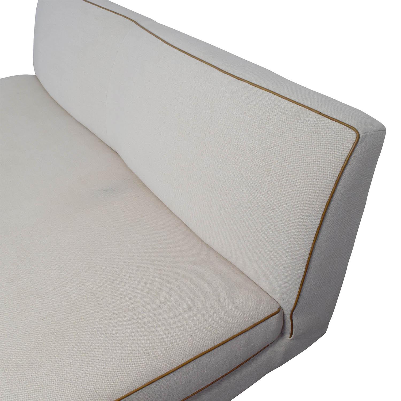 shop west elm commune armless sofa west elm